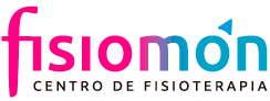 Logo del patrocinador Fisiomón de la escuela de Padel de Padel Space las Tablas.