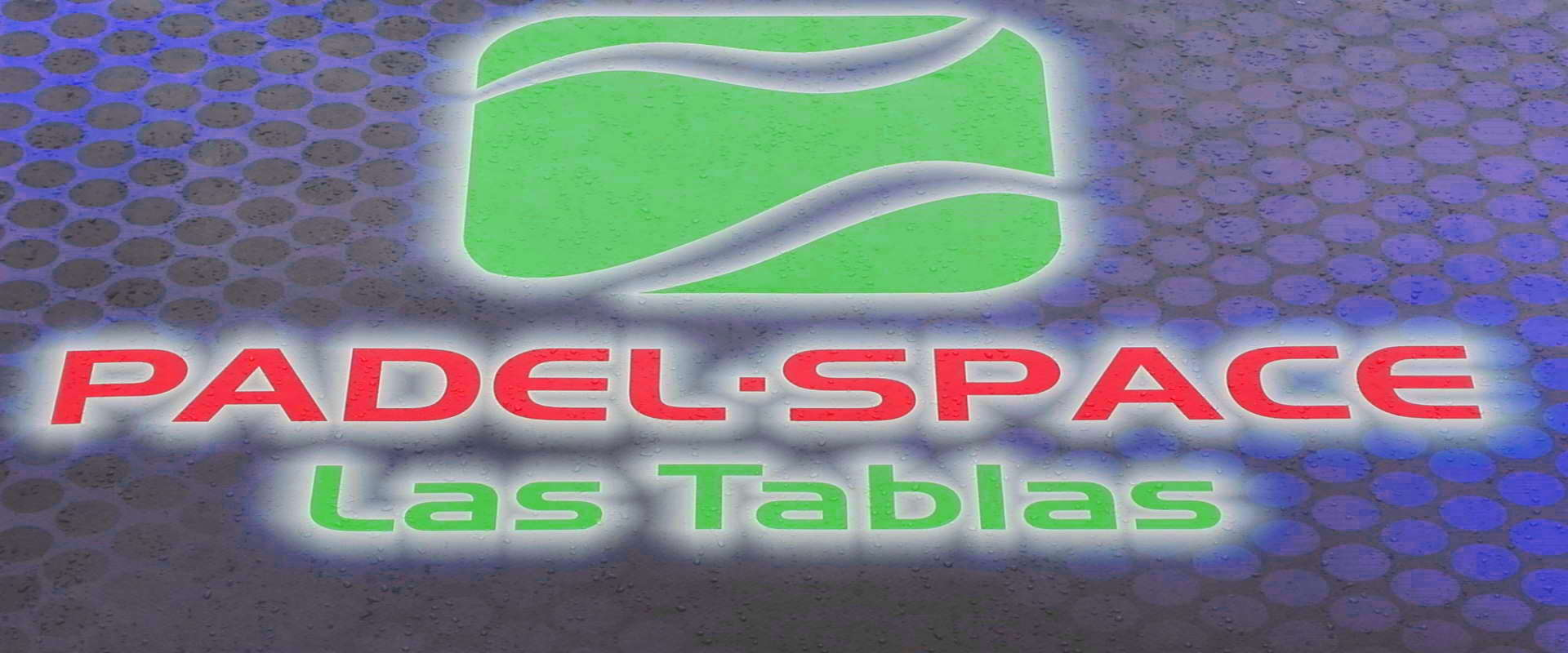 Logo de La escuela en la página de contacto de Padel Space Las Tablas.